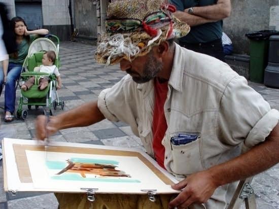 Artista a Taormina (2984 clic)
