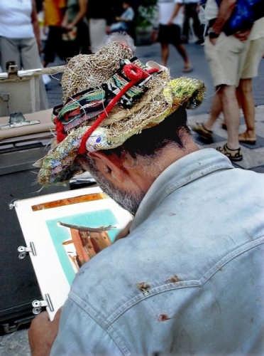 Artista a Taormina 1 (3022 clic)