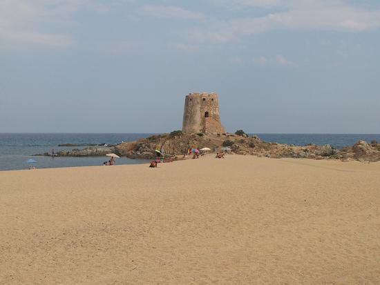 spiaggia Torre di Bari - Bari sardo (1996 clic)