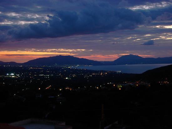tramonto sul golfo di Castellammare - Montelepre (1777 clic)
