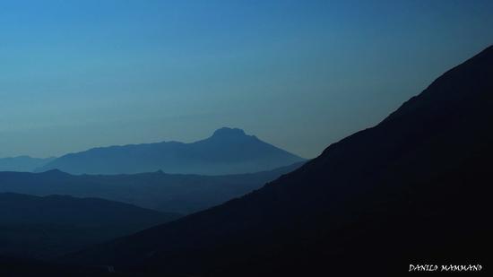 Tramonto BLU - Caltavuturo (602 clic)
