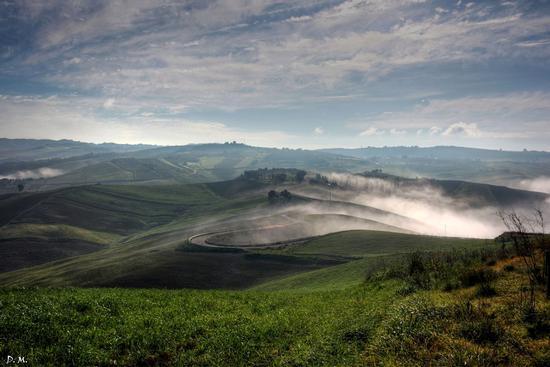 Foschia - Caltanissetta (542 clic)