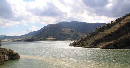 Lago Rosamarina - Caccamo (2135 clic)