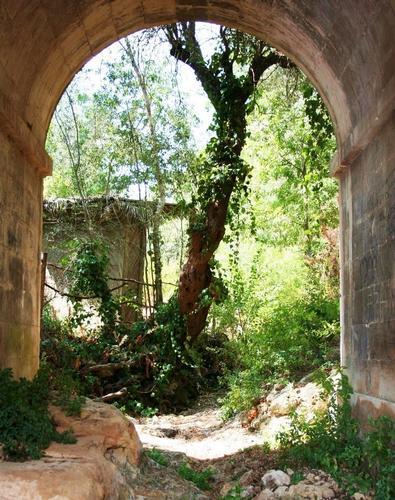 Sotto il ponte - Noto (1267 clic)