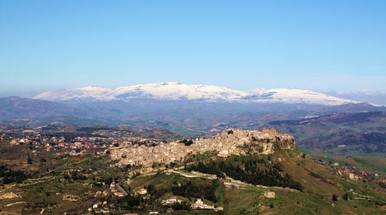 Calascibetta e le Madonie innevate (2075 clic)