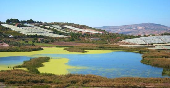 Lago Soprano Serradifalco (CL) (2476 clic)