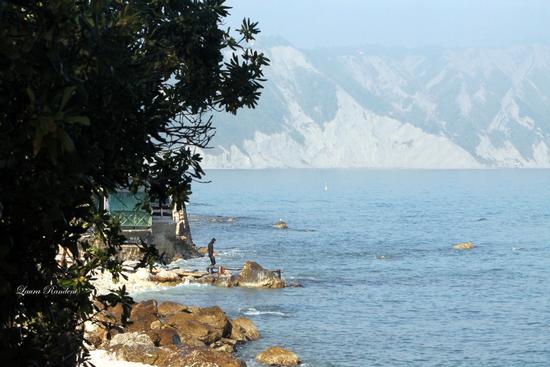 il mare.....in autunno... - Portonovo (906 clic)