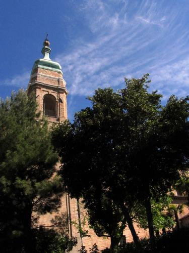 il campanile San francesco - Camerano (1611 clic)