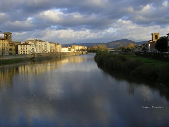 fiume arno - Firenze (2450 clic)