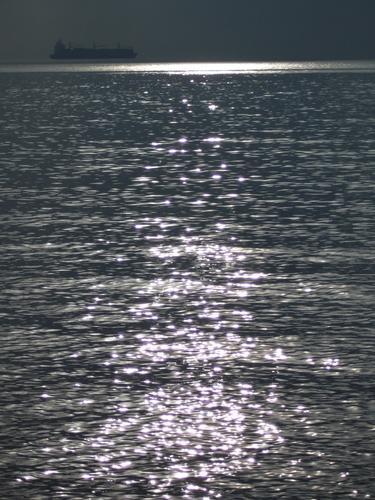 Golfo di Trieste, la nave volante - Miramare (1714 clic)