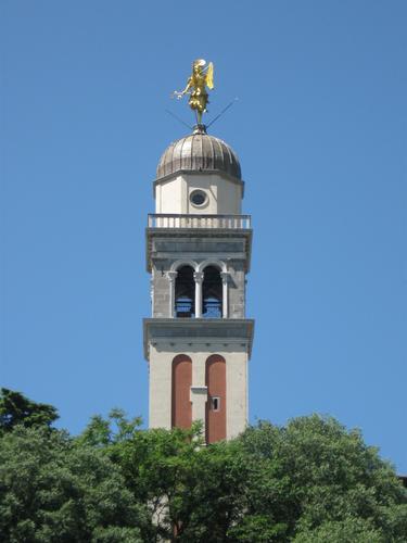 Udine, la torre campanaria del Castello (3462 clic)