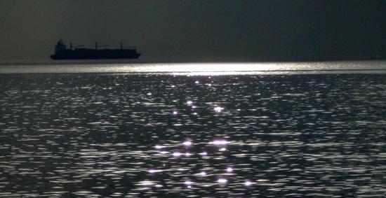Golfo di Trieste, la nave volante - Miramare (2895 clic)