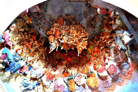 CAPPELLA DEL PARADISO - SANTUARIO DI CREA - SERRALUNGA DI CREA - inserita il 07-Jul-14