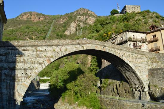 PONTE DEL DIAVOLO - Pont saint martin (2943 clic)
