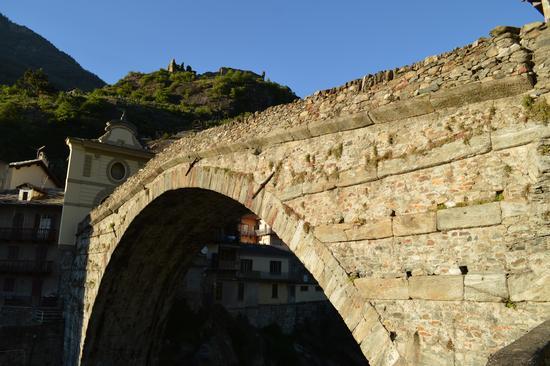 PONTE DEL DIAVOLO - Pont saint martin (983 clic)