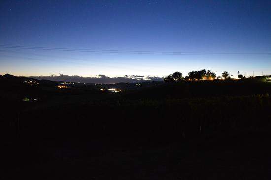 Tramonto inoltrato - Cereseto (961 clic)