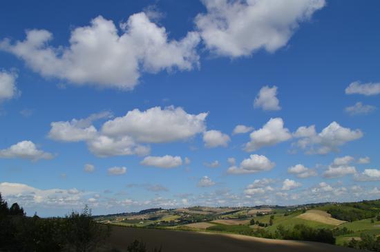 Nuvole a Cereseto (1097 clic)