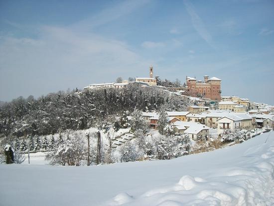 Cereseto Monferrato sotto la neve (688 clic)