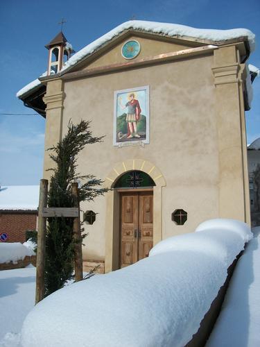 Cereseto Monferrato sotto la neve (755 clic)