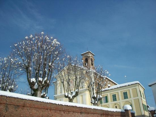 Cereseto Monferrato sotto la neve (578 clic)