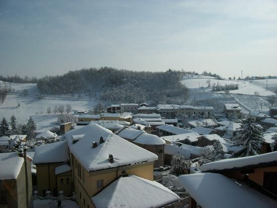 Cereseto Monferrato sotto la neve (948 clic)