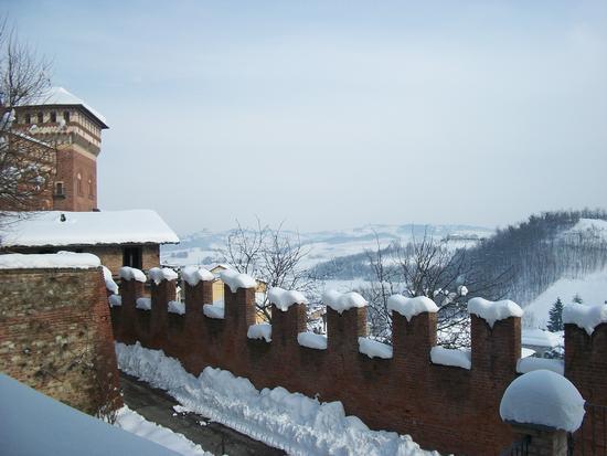 Cereseto Monferrato sotto la neve (903 clic)