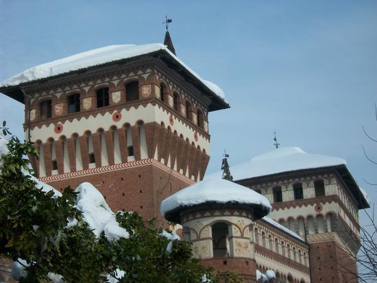 Cereseto Monferrato sotto la neve (1004 clic)