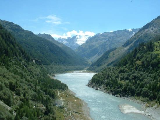 Valgrisenche (Ao) - Laghetto della diga - Valgrisanche (8625 clic)