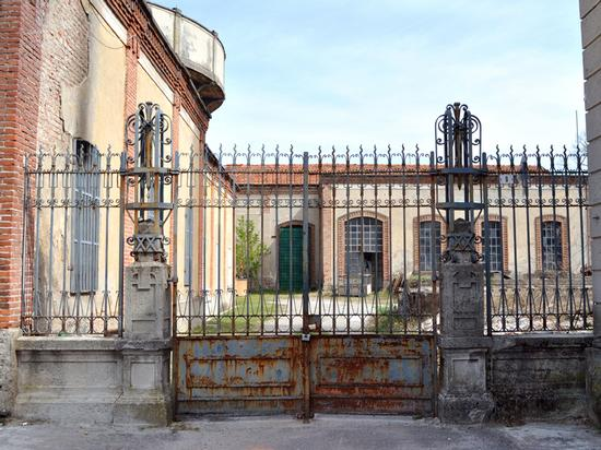 cancelli di ferro battuto  - Capriate san gervasio (2391 clic)