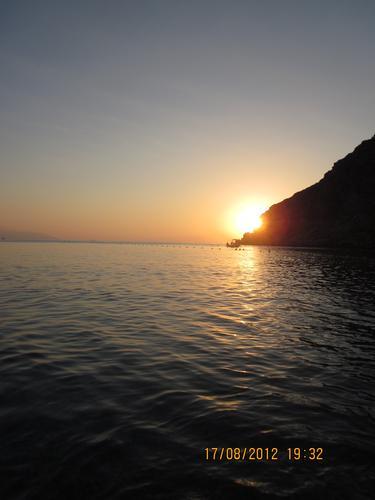 tramonto  - Milazzo (1220 clic)