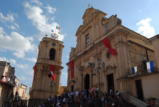 campanile della chiesa di santa maria della stella - Militello in val di catania (2303 clic)