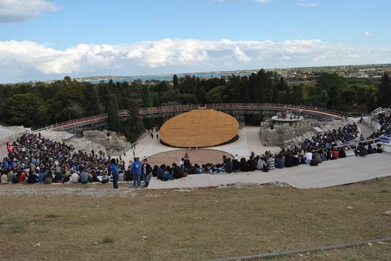 tragedia greca PROMETEO teatro di sircusa - Siracusa (1571 clic)