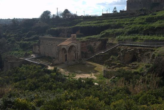 chiesa di santa maria la vetere - monumento nazionale- patrimonio unesco - Militello in val di catania (2365 clic)