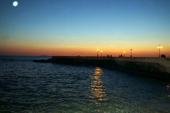 tramonto terrazza Mascagni - Livorno (1433 clic)