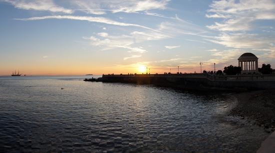tramonto terrazza Mascagni - Livorno (1336 clic)