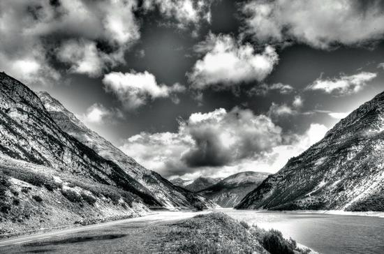 Il lago di Livigno (1132 clic)