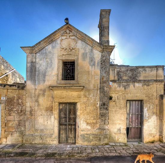 Chiesa della Madonna degli studenti - Lecce (1990 clic)