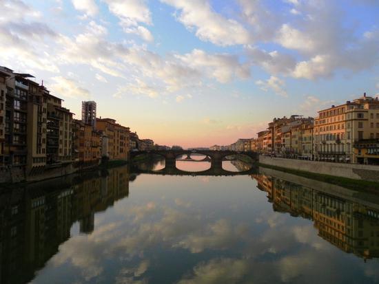 Dal Ponte Vecchio - Firenze (939 clic)