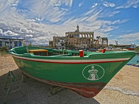 Il cielo di San Vito - Polignano a mare (2184 clic)