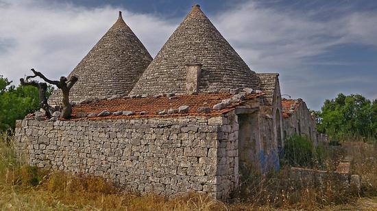 Trulli di campagna - Castellana grotte (1022 clic)