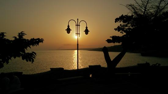 Un tramonto a San Gregorio - Marina di san gregorio (990 clic)