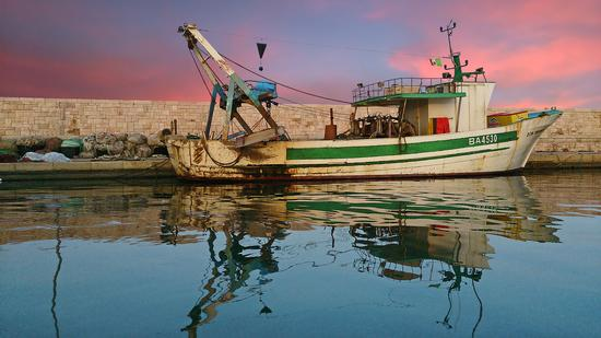Il peschereccio alla fonda - Santo Spirito - inserita il 18-Dec-15