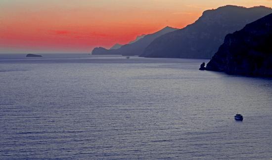Tramonto d'oro - Praiano (771 clic)