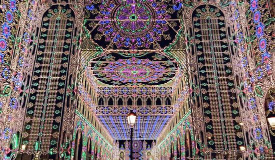 Le luci del santo - Bari (940 clic)
