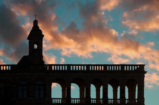 Un tramonto a San Vito - San vito polignano (6019 clic)