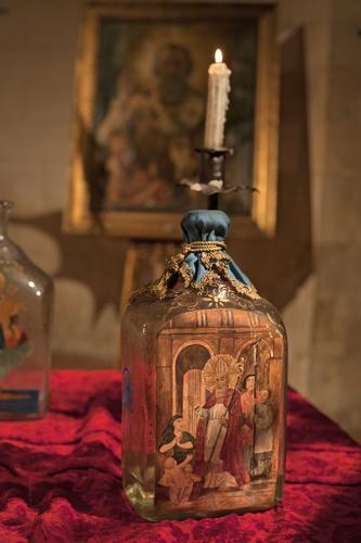 Una candela sulla Manna di San Nicola - Bari (1092 clic)