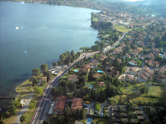 panorama di Sarnico (3730 clic)