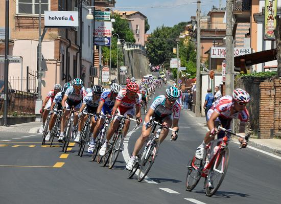 Giro d'Italia - Fiano romano (1500 clic)