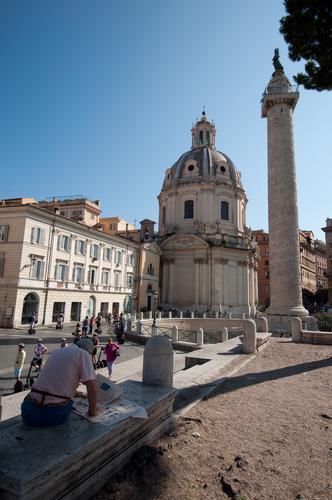 Piazza del Foro di Traiano - Roma (582 clic)