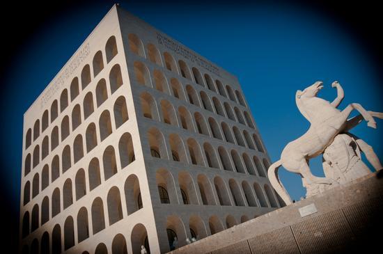 Palazzo della Civiltà Italiana - Roma (1142 clic)